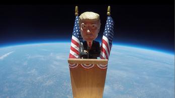 Miért menne át Trump az űrön?