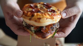 A magyar pizzaburger felér egy kisebb bűncselekménnyel