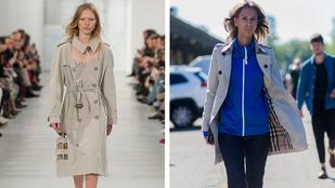 Megirigyelte a Burberry ikonikus kabátját a Margiela