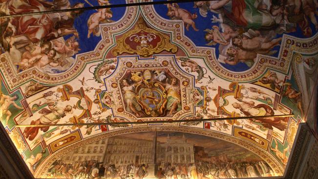 Gyönyörű 360 fokos fotót posztolt a Sixtus-kápolnáról a Getty