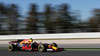 Megint a Ferrarinak volt a legjobb napja Barcelonában