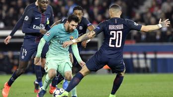 Öt éve olyat tett Messi, ami reményt adhat a Barcának