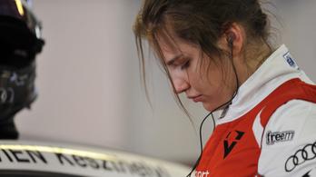 Az Audi gyári csapatában versenyez a 16 éves Keszthelyi Vivien