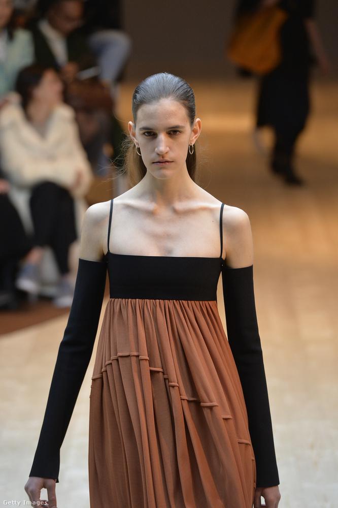 A Celine nevű márka továbbra is rajong a vékony modellekért, és önmagában ebben még nincs semmi kivetnivaló, hiszen van, aki koplalás nélkül így néz ki, mert olyan a testalkata, hogy nem tud hízni