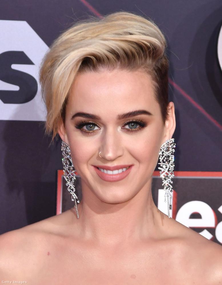 Katy Perry legújabb hajszerkezete valahonnan ismerős.Nagyon ismerős.De honnan is?