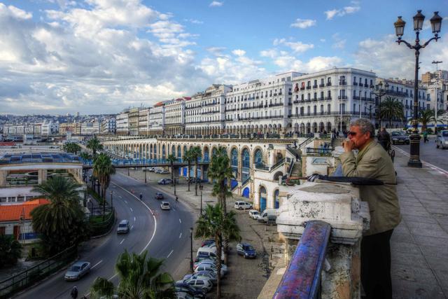 Algír promenádja