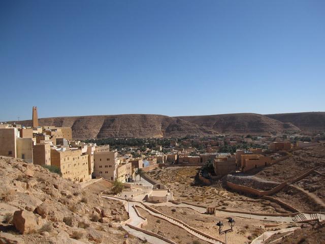 Az M'zab legrégebbi városa, El-Atteuf - 1013-ban alapították
