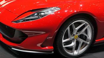 Körbejártuk az új Ferrarit