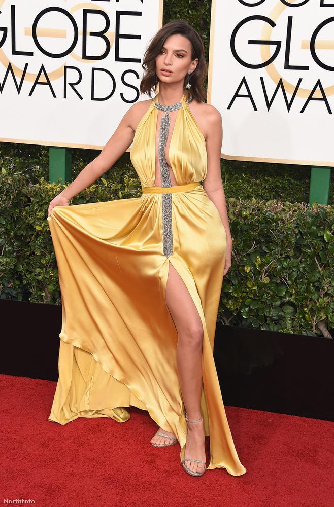 Ez a Golden Globe-díjátadós ruha se volt semmi, de...