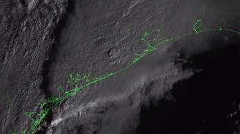 Visszaküldte az első villámvideót az USA műholdja