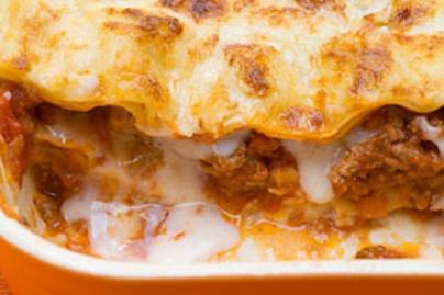 csirkes lasagne lead