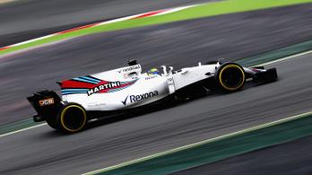 Räikkönen- és McLaren-KO, dőltek a rekordok az F1-teszten