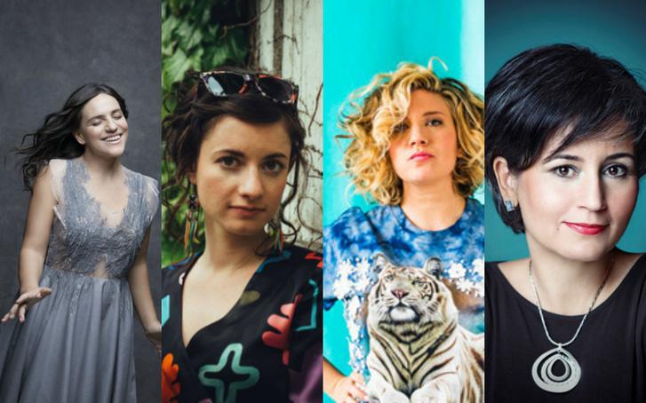 Néhány női dal- és zeneszerző: Palya Bea, Szeder, Jónás Vera, Tallér Zsófia