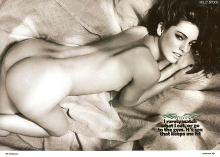 A képekért kattintson ide!Kelly Brooks a Loaded magazinban (forrás: hotcelebshome.com)