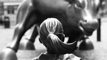 Bátor kislány a Wall Streeten