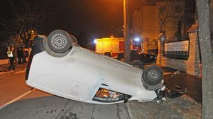 Négy ember sérült meg a zuglói balesetben