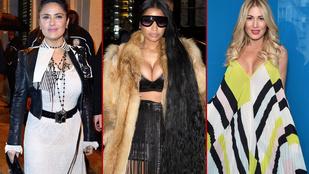 Bunda, mellek, bokáig érő haj: Nicki Minaj lenyomta Párizst