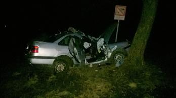 Két halálos baleset is történt szombat reggelre