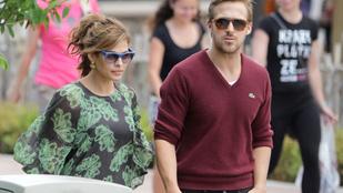 Hoppá! Eva Mendes elkísérte Ryan Goslingot egy premierre