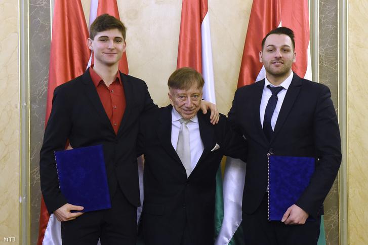 Bánkövi Bence Balázs, Vásáry Tamás és Balázs Ádám Ferenc