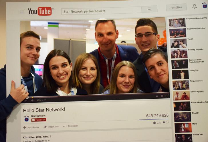 A Star Network csapata