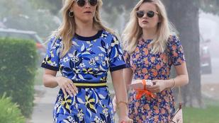 Sikerül elsőre megkülönböztetni Reese Witherspoont és lányát?