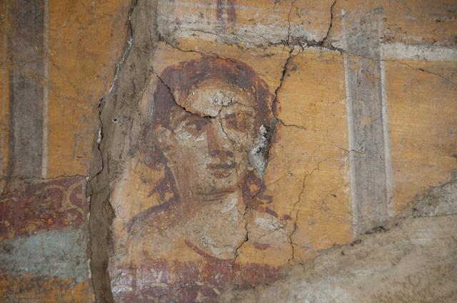 Egy a Pompeji-ben található falfreskók közül