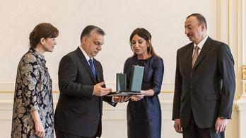 Az azeri elnök kinevezte a saját feleségét, Orbán neje meg gratulált neki