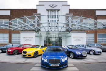 A Bentley is elköltözhet Nagy-Britanniából