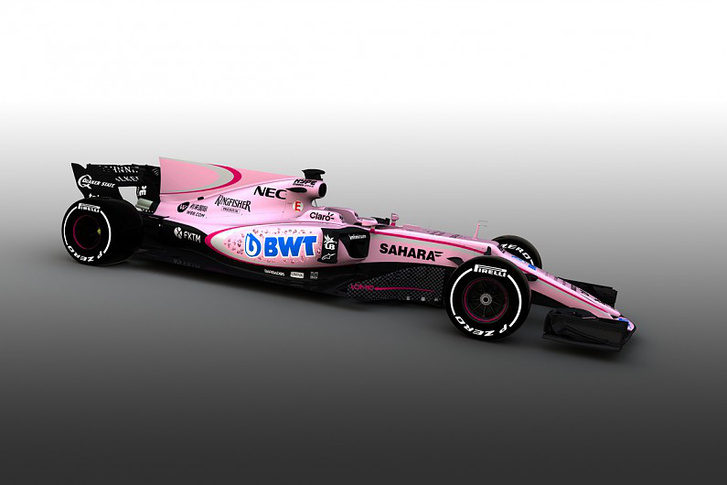 A 2017-es Force India-Mercedes