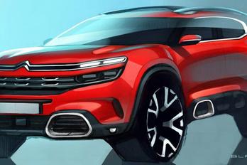Vázlatokon az új bakancs-Citroën