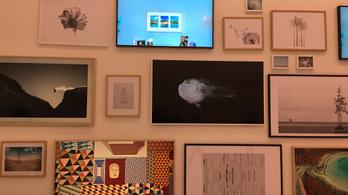 Festménynek álcázza magát a tévé