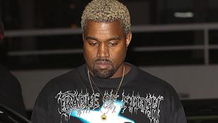 Erre nem álltunk készen: Kanye West Cradle Of Filth pulcsit hord