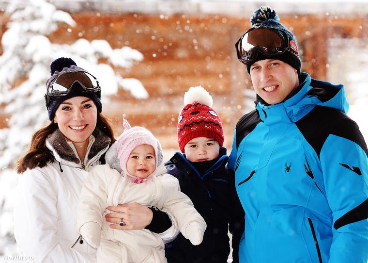 """Vilmos herceg és Katalin hercegné legkisebb utóda, Sarolta hercegnő május 2-án lesz kétéves, vagyis, ahogy a távoli, bajuszos nagynénik mondani szokták, már """"kész nő"""""""