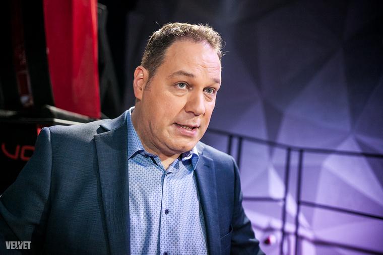 Pachmann Péter A Nagy Duett sajtótájékoztatóján.