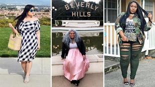 Így hordják az idei trendeket a teltkarcsú nők