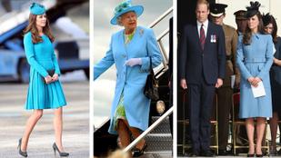 Kate Middleton, a királynő titkos stylistja