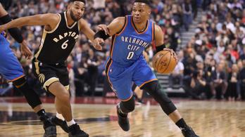 Westbrook újabb szintre emelte a kosárlabdát