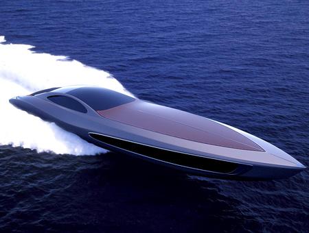 csoda-yacht a vízen