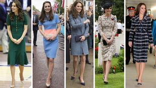 Összesen hatféleképp öltözik Katalin