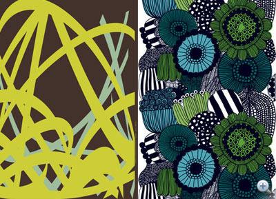 2009. őszi textilek: minden szezonban új kollekció jön ki, akár 30 éves minták is kaphatnak új színt.