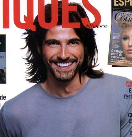 Reynaldo Gianecchini a Chiques magazin címlapján