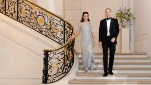 Katalin hercegné háromféle ruhában pompázott pár óra leforgása alatt