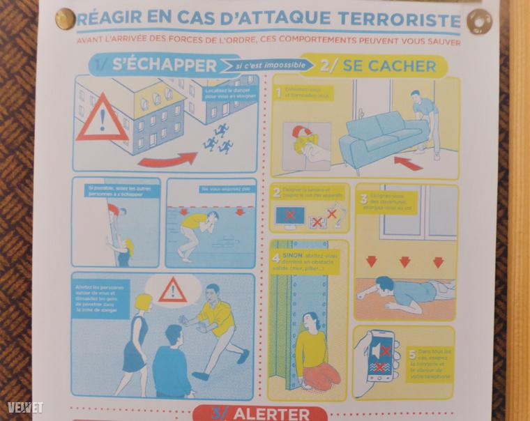 Mit tegyünk, ha terrortámadásba kerülünk? Úgy tűnik, most már ezt is tudnia kell mindenkinek, aki belép egy francia templomba.