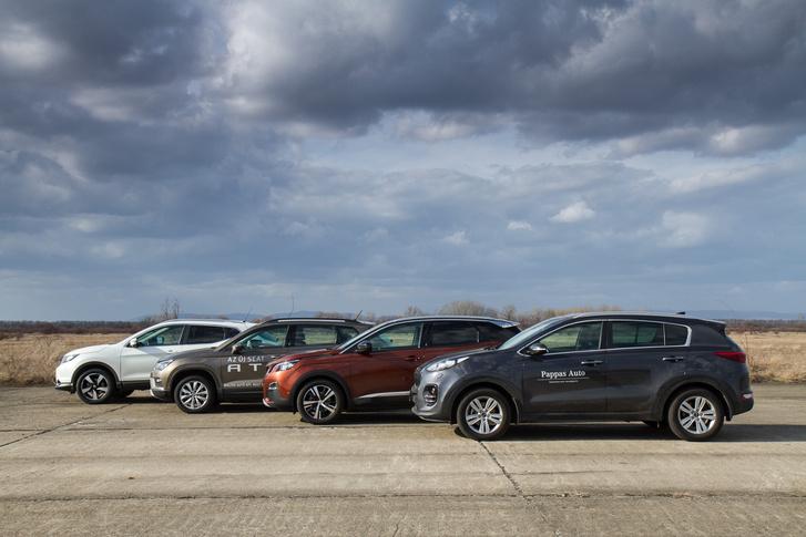 Nem ez lett a gyorsulási verseny befutója: a Peugeot nyert, nyomában Seat, Nissan és Kia volt a sorrend