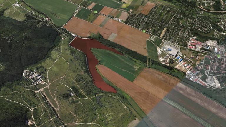 Ingyen is be lehet húzni egy 25 hektáros tavat