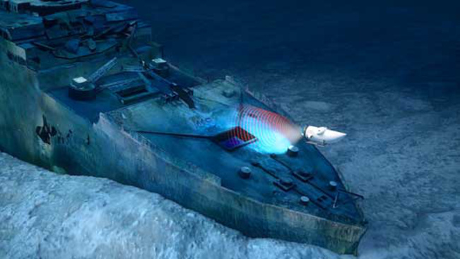 titanic scanning 3
