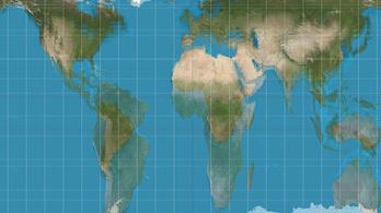 Lecserélik a torz, Európa-központú térképeket az USA egyes iskoláiban