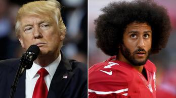 Tényleg Trump miatt nincs csapata az NFL-es botrányhősnek?