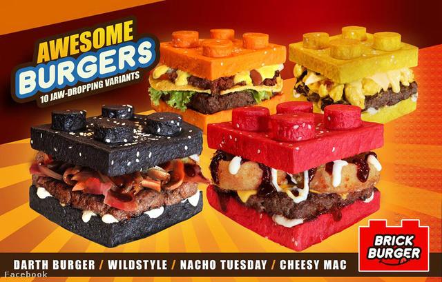 Pompás burgerek kelletik magukat a fülöp-szigeteki Pasig városában